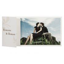 Romantische Dankeskarte mit Foto bestellen