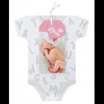"""Babykarten """"Mädchen - Strampler"""" im ausgefallenen Design"""
