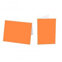 """Einlegeblätter """"Orange"""" für Weihnachts- und Neujahrskarten"""