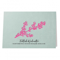 Farbenfrohe Weihnachtskarten im ausgefallenen Design