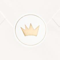 """Verschlusssiegel & Briefsiegel """"goldene Krone"""""""