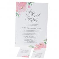 """Hochzeitsbrief """"Traumhochzeit"""" mit kleinen Zusatzkarten"""