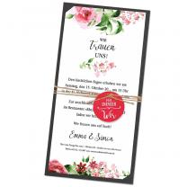 """Hochzeitseinladungen """"Blütenzauber"""""""