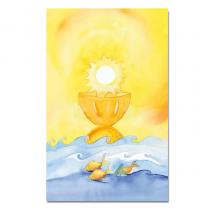 """Kommunionbildchen / Heiligenbildchen """"Jesus - Sonne, Brot und Leben"""""""