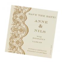 Orientalische Save the Daten Karten im edlen Design