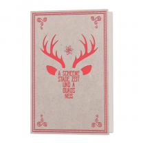 """Originelle Weihnachtskarten """"Landhaus"""""""