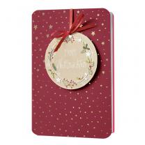 Rote Weihnachtskarten