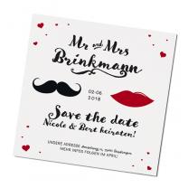 "Save the date Karten ""Mr. & Mrs"""