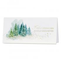 Stimmungsvolle Weihnachtskarten mit edler Goldfolienprägung
