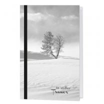 Stimmungsvolle Trauerkarten mit Landschaftsmotiv