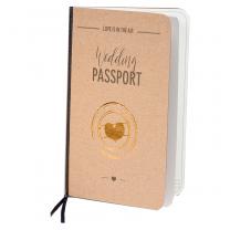 """Vermählungskarten """"Wedding Passport"""" im ausgefallenen Design"""