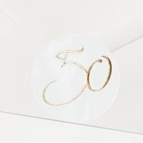 """Verschlusssiegel & Briefsiegel """" goldene 50"""""""