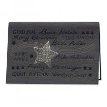 X-Mas Weihnachtskarten mit edler Gold- & Schwarzfolienprägung