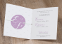 """Edle Babykarten """"Zwillinge"""" - Gestaltungsbeispiel Karteninnenseiten"""