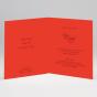 Ausgefallene edle Hochzeitskarten - Gestaltungsbeispiel Karteninnenseiten