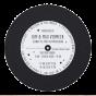 """Ausgefallene Babykarten """"Schallplatten Lp"""" - Gestaltungsbeispiel Rückseite LP"""