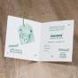"""Ausgefallene Geburtskarten """"Tiger & Dschungel"""" - Gestaltungsbeispiel Karteninnenseiten"""