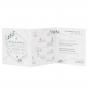 Ausgefallene Hochzeitseinladung - Gestaltungsbeispiel Karteninnenseiten