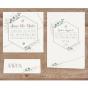 Ausgefallene Hochzeitseinladung - Mögliches Kartenzubehör