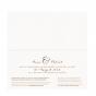 Ausgefallene Hochzeitseinladungen - Gestaltungsbeispiel Karteninnenseiten