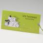 Ausgefallene, lustige Hochzeitskarten im fröhlichen Design