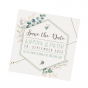 Ausgefallene Save the Date Karten im trendigen Design