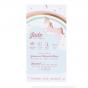 """Babykarten """"Einhorn"""" - Gestaltungsbeispiel Karteninnenseite"""