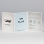 """Originelle Babykarten """"Schnurrbart"""" - Gestaltungsbeispiel Karteninnenseiten"""