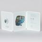 """Kutlige Babykarten """"VW Bus"""" - Gestaltungsbeispiel Karteninnenseiten"""
