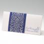 """Blaue Einladungskarten """"Perle"""""""