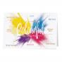 Bunte Weihnachtskarten mit edler Goldfolienprägung in spritzigem Design