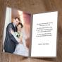 """Dankeskarten """"Hochzeit mit Foto"""" - Gestaltungsbeispiel Karteninnenseiten"""