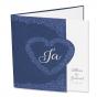 Dunkelblaue Hochzeitskarten