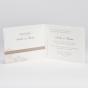 Edle Hochzeitseinladungen - Karteninnenansicht