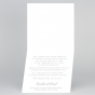 """Edle Hochzeitseinladungen """"Blau"""" - Gestaltungsbeispiel Karteninnenseiten"""