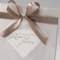 Edle Hochzeitseinladungen - Detailansicht