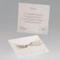 """Edle Hochzeitskarte """"Ornament"""" - Gestaltungsbeispiel Kartenrückseite"""