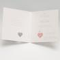 Edle Baby - Gestaltungsbeispiel Karteninnenseiten