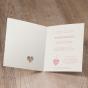 Edle Hochzeitseinladungen - Gestaltungsbeispiel Karteninnenseiten