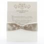 Edle Hochzeitskarten - Gestaltungsbeispiel Karteninnenseiten