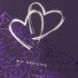 """Edle Hochzeitskarten """"Flieder"""" - Detailansicht"""