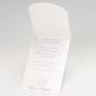 Einladung zur Silberhochzeit - Gestaltungsbeispiel Karteninnenseiten