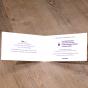 """Edle Einladung """"Kommunion & Konfirmation"""" - Gestaltungsbeispiel Karteninnenseiten."""