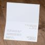 """Einladungen """"Champagner"""" - Gestaltungsbeispiel Karteninnenseiten."""