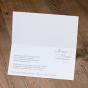 """Elegante Einladungskarten """"Silberhochzeit""""- Gestaltungsbeispiel Karteninnenseiten"""