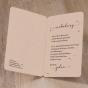 """Einladungskarten """"Belarto"""" - Gestaltungsbeispiel Karteninnenseiten"""