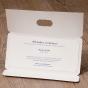 """Einladungskarten """"Blumen"""" - Gestaltungsbeispiel Karteninnenseiten"""