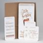 Besondere Einladungskarten - Gestaltungsbeispiel Karteninnenseiten