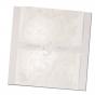 """Einladungskarten """"Silberhochzeit"""" aus extravagantem Materialmix"""