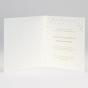 """Elegante Hochzeitseinladung """"Handgeschöpft"""" - Gestaltungsbeispiel Innenseiten"""